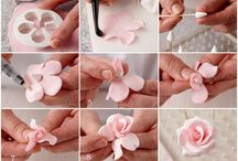 cake decorations flowers