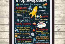 метрика постер