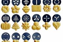 Yummy Cookie Press Ideas / by Joette Forcier