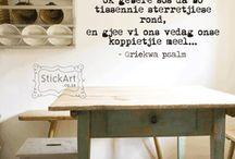 StickArt / StickArt, Wall art, stickers, graffiti, Afrikaans, Windpomp, Protea, Griekwa Psalms, South Africa, www.stickart.co.za