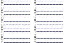 Organização o Lar / Ideias de organização * Lista de compras * etc...