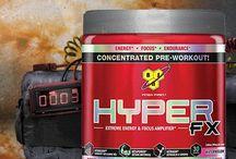 Preworkouts / Suplementos pre-entrenamiento que producen energía inmediatamente.