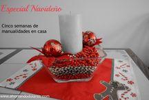 Ideas para Navidad / Christmas  / Ideas económicas para decorar tu casa en Navidad. Manualidades de Navidad para hacer en familia.