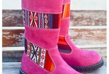 OTB Kids Boots / OTB Kids Boots are unique and fun footwear for little feet! These Winter must-haves come in four vibrant colours, Rocoto Red, Flamingo Pink, Jungle Green and Azul Blue. Available in kids sizes 28-33 (EUR). Visit outsidethebubble.com.au/collections/otb-kids-boots for more information...