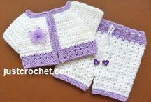 Crochet baby items