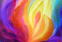 Farbenfrohe Bilder