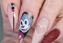 Fabulous Disney Nail Art/ Cartoon Nails Ideas/ Pop Culture Nails/ Paznokcie Hybrydowe z Bajkami