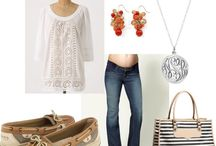 What to wear... with a bump / by Kiira Greene