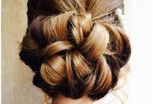 Hair Up style