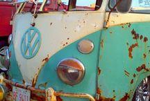 Große Liebe / Der Traum von einem VW Bulli und einer Vespa