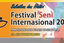 Festival Seni Internasional 2016 / Festival Seni Internasional 2016 P4TK Seni dan Budaya Yogyakarta