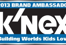 K'NEX 2013 Brand Ambassadors Community Board / K'NEX Brand Ambassadors are a group of talented bloggers hand-picked by K'NEX to review K'NEX product. Here you can find their product reviews, read interesting and helpful information from their blogs and interact with the K'NEX Brand Ambassador community! Welcome!