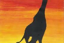 kirahvi savanni