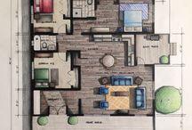 Architecture small size