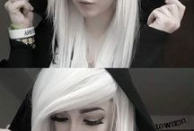 «emo» bangs