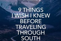 South America- travel