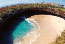 Playa escondida. Un paraíso escondido en México