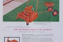 Vintage Lawn Mower Ads