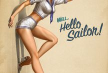 Pinup Girls / by Cindy Guilford