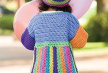 kids crochet n knitting stuff