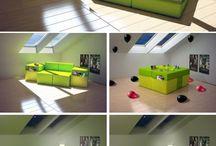 postele gauče