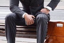 Stripe suits