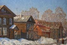 Tver / Тверская область в живописи