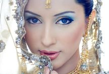 Indian Bride makeup/henna
