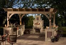 Kuchnie ogrodowe