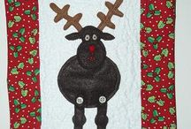 YQ Christmas Projects / Here's a selection of Christmas projects made by Young Quilter members