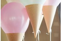 Ice-cream Party Invitations