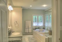 White Bathrooms / by Dream Kitchens-Kitchen and Bathroom remodeling