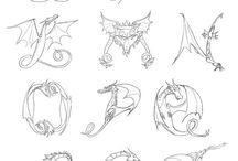 Dragon alphabet