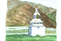 Susan Fox's Location Watercolors and sketches / Share my travels through my watercolors and sketches!