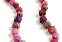Perles de tissu