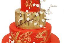 Asian Inspired #Wedding Cake