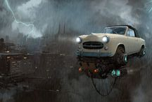 Alejandro Burdisio is an Argentinian artist who has created a vision of our future with flying cars. / Alejandro Burdisio.  Alejandro Burdisio is an Argentinian artist who has created a vision of our future with flying cars.   -----------------------------------------------------------------------------  SULEMAN.RECORD.ARTGALLERY: https://www.facebook.com/media/set/?set=a.413324518877573.1073742277.286950091515017&type=3  Technology Integration In Education:
