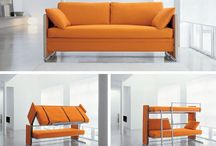 Maximize space with a sofa bed!