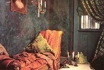 cozy places / by Laurie Lette