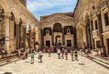 Croatian Architecture / Astonishing croatian architectural assets, mixture of historical styles of Romanesque, Renaissance and Baroque architecture, accompanied with industrial era and croatian modern.