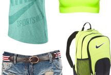 Work Out Clothes / Exercise Clothing