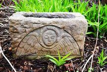 Ed Januska stone carvings