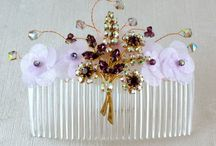 Vintage Weddings / For the Vintage Bride; hair accessories, lace dresses, bouquets, cakes and more.