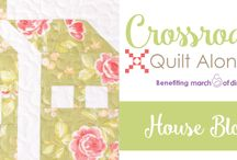 Crossroads Quilt Along / The 2016 Crossroads Quilt Along hosted by Fat Quarter Shop, benefiting Make-A-Wish!