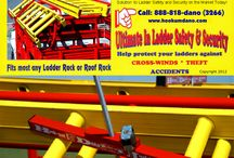 Hook-Um Dano Ladder Locks / Ladder Safety is no Accident!