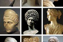 Portraits-faces / Faces of Roman Times