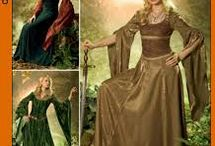 Medieval and fantasy dress