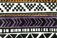 Díszítő minták  (decorative pattern)