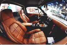leather car