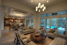 Open plan lounge/dining rooms